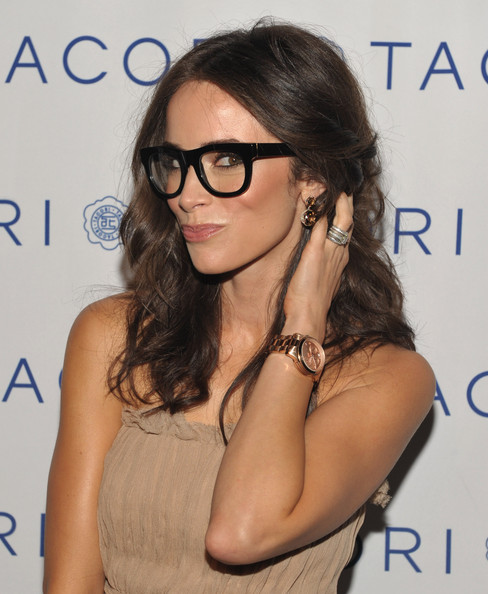 Abigail Spencer Gold Chronograph Watch