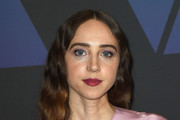 Zoe Kazan Long Wavy Cut