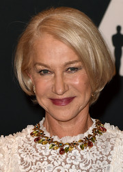 Helen Mirren kept it classic with this bob when she attended the Governors Awards.