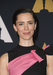Rebecca Hall slicked her hair down into a neat side-parted 'do for the Governors Awards.