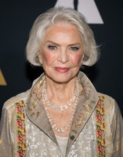 Ellen Burstyn was stylishly coiffed with this silver bob at the 45th anniversary screening of 'The Exorcist.'
