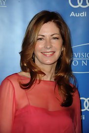 Dana Delany attended the 5th Annual Television Honors with hair styled in sleek layers.