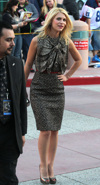 More Pics of Claire Danes Pencil Skirt (3 of 21) - Claire Danes Lookbook - StyleBistro