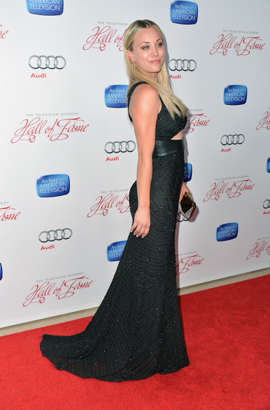 More Pics of Kaley Cuoco Hard Case Clutch (1 of 15) - Kaley Cuoco Lookbook - StyleBistro