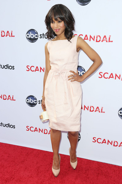 More Pics of Kerry Washington Pumps (3 of 25) - Kerry Washington Lookbook - StyleBistro