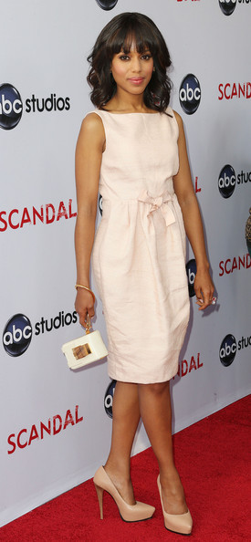 More Pics of Kerry Washington Pumps (4 of 25) - Kerry Washington Lookbook - StyleBistro