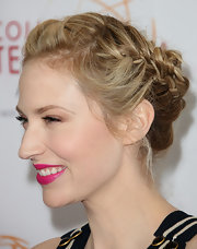 Beth Reisgraf wore her hair in a lovely French braided updo for the College Television Awards.