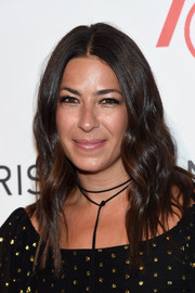 Rebecca Minkoff looked boho with her face-framing waves at the 2016 ACE Awards.