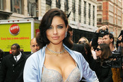 Adriana Lima Shows Off Victoria's Secret Fantasy Bra