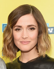Rose Byrne looked oh-so-pretty with her short, side-parted waves at the SXSW premiere of 'Adult Beginners.'