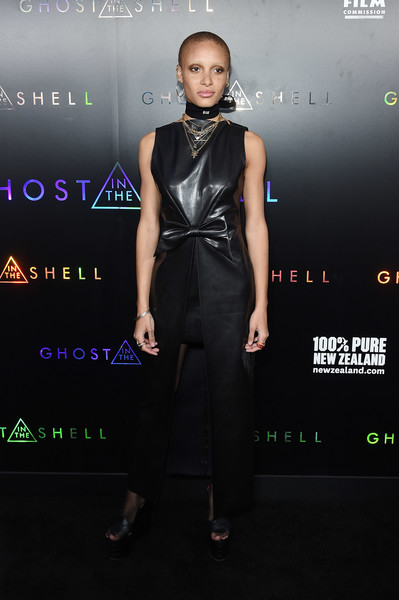 Adwoa Aboah Leather Dress