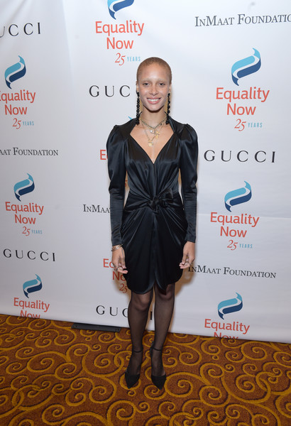 Adwoa Aboah Little Black Dress