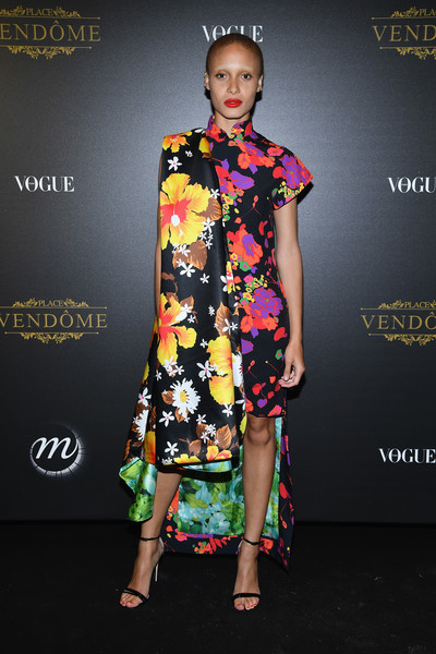 Adwoa Aboah Print Dress