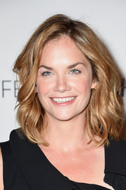 Ruth Wilson rocked messy waves at the PaleyFest screening of 'The Affair.'