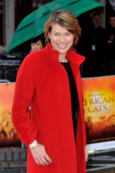More Pics of Kate Silverton Short Side Part (2 of 4) - Short Hairstyles Lookbook - StyleBistro [african cats,red,fashion,outerwear,premiere,event,carpet,tusk,arrivals,kate silverton,aid,aid,uk,england,african cats - uk premiere,premiere]