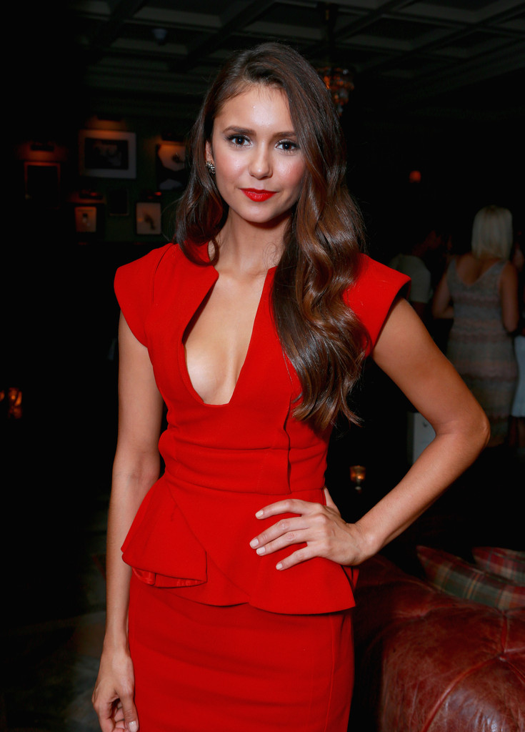 Actress Nina Dobrev attends the Late Lounge hosted by Grey Goose Vodka at Soho House on September 7, 2012 in Toronto, Canada.