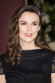 Keira Knightley looked oh-so-pretty with her half-pinned curls at the premiere of 'The Aftermath.'