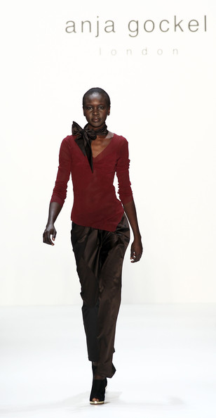 Alek Wek Silk Pants
