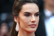 Alessandra Ambrosio Feathered Earring