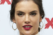 Alessandra Ambrosio Gold Hoops