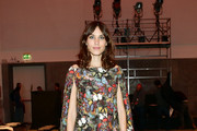 Alexa Chung Off-the-Shoulder Dress