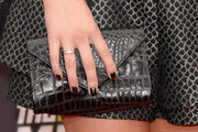 Alexa Vega Leather Clutch