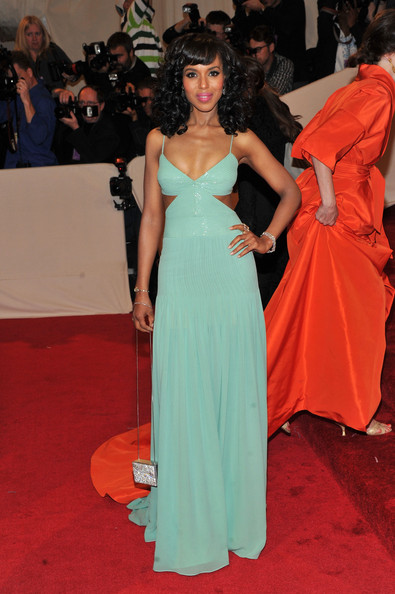 Kerry Washington (in Tory Burch) as Jasmine