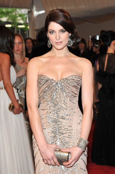 More Pics of Ashley Greene Chignon (1 of 11) - Chignon Lookbook - StyleBistro