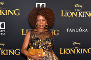 Alfre Woodard Metallic Clutch