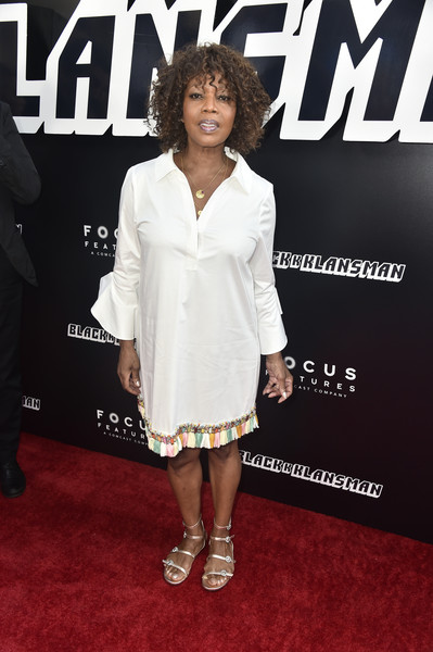 Alfre Woodard Flat Sandals