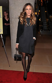 Sarah Jessica Parker was a doll in these polka-dot tights.