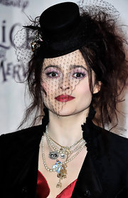 Were not sure what exactly you call this, but it looks like she attended this premiere as Edward Scissor hand. No?