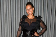Alicia Keys Little Black Dress