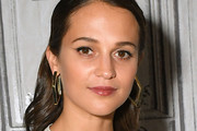 Alicia Vikander Geommetric Earrings