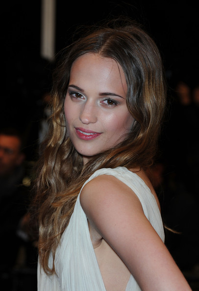 Alicia Vikander Ombre Hair