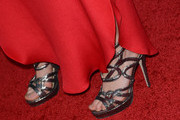 Alison Pill Strappy Sandals
