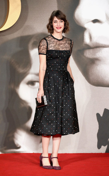 More Pics of Lizzy Caplan Print Dress (1 of 5) - Lizzy Caplan Lookbook - StyleBistro