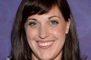 Allison Tolman Medium Straight Cut with Bangs