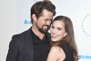 Allison Williams Andrew Rannells Housing Works Groundbreaker Awards 2015