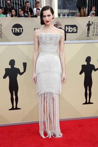 Allison Williams Strapless Dress
