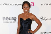 Allyson Felix Strapless Dress