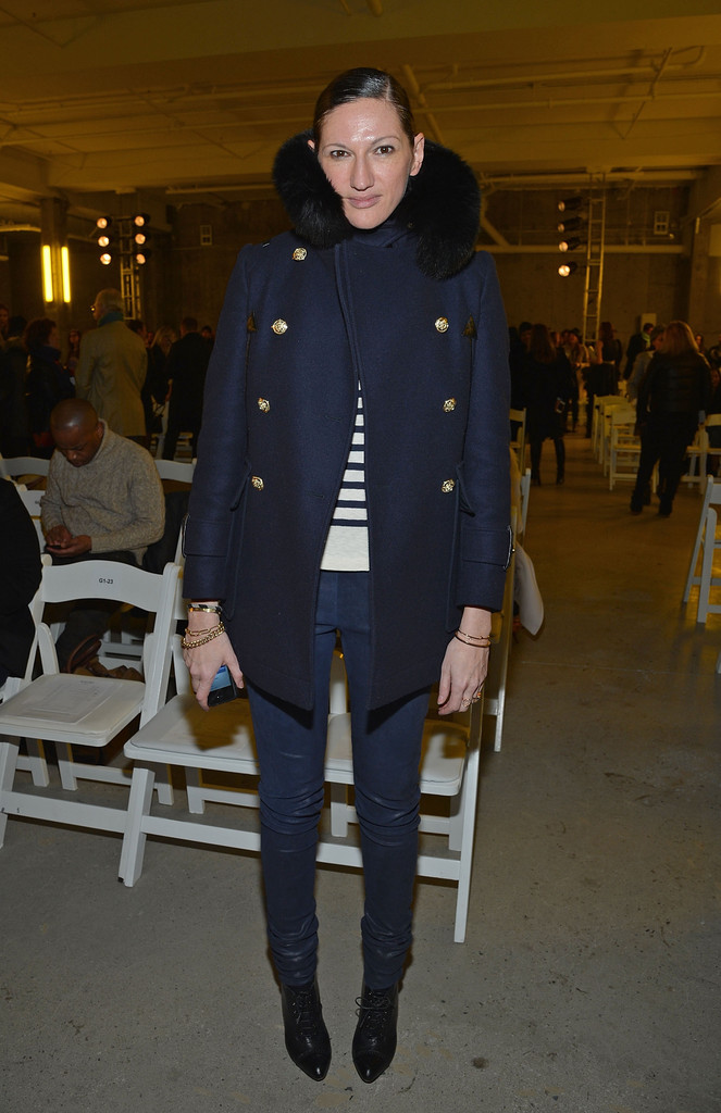 Fashion designer Jenna Lyons attends the Altuzarra fall 2013 fashion show during Mercedes-Benz Fashion Week at Skylight Studio on February 9, 2013 in New York City.