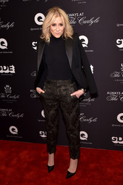 Judith Light topped off her menswear-chic look with a black tux jacket.