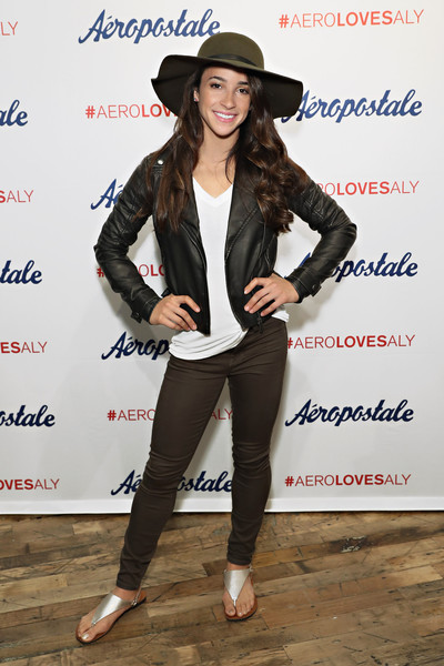 Aly Raisman Leather Jacket