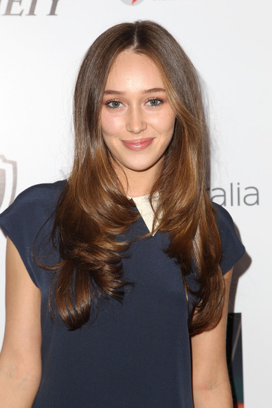 Alycia Debnam-Carey Layered Cut