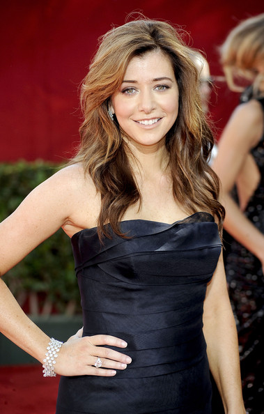 Alyson Hannigan Long Curls