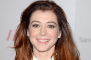 Alyson Hannigan Long Wavy Cut