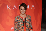 Alyssa Milano Skirt Suit