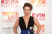Alyssa Milano Wrap Dress