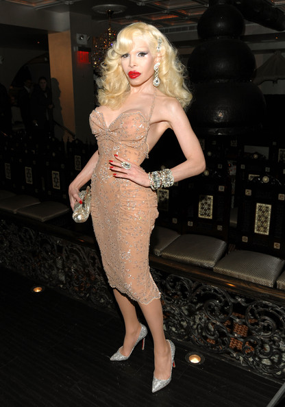 Amanda Lepore Halter Dress
